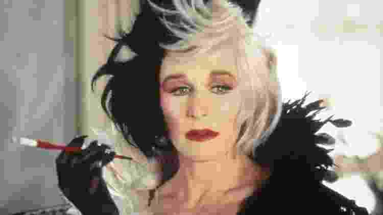 Glenn Close viveu a primeira Cruella, em 1996 - Divulgação/Disney - Divulgação/Disney
