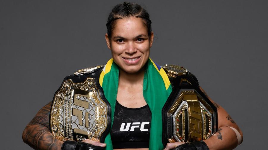 Amanda Nunes (divulgação UFC) - Reprodução / Internet