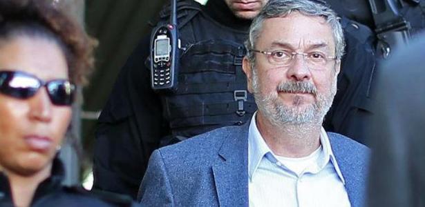 O ex-ministro Antonio Palocci, que fechou acordo de delação com a PF - Hauler Andrey / AFP