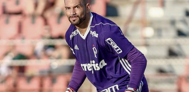 Weverton foi contratado pelo Palmeiras no começo da temporada