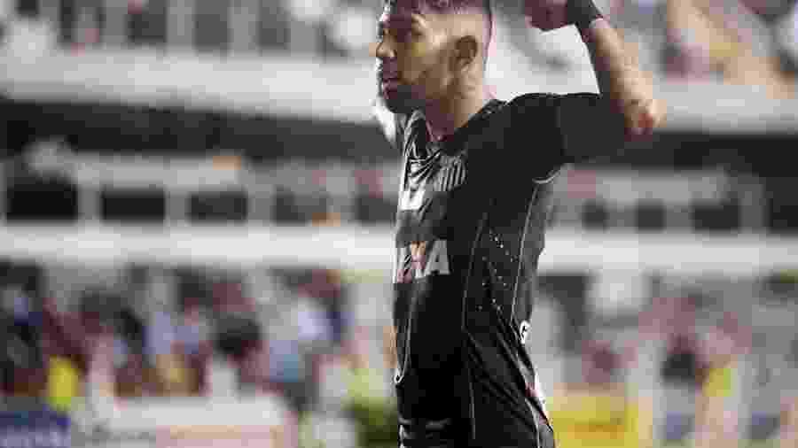"""Os números mostram que Gabigol é """"mais forte"""" jogando na Vila Belmiro - Ivan Storti/Santos"""