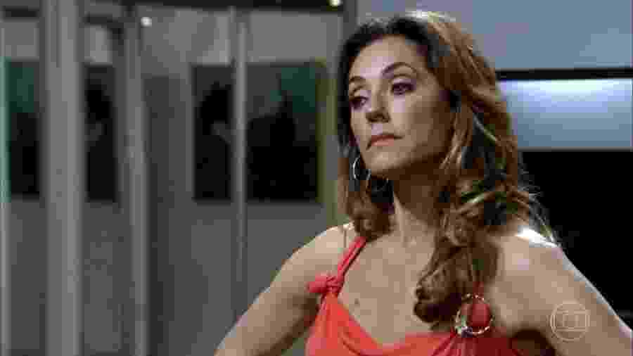 Christiane Torloni em Fina Estampa, atualmente sendo reprisada pela Globo - Reprodução/Internet