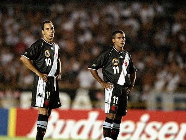Romário e Edmundo protagonizaram uma das maiores troca de provocações da história do futebol brasileiro