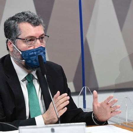 CPI da Covid: Ernesto Araújo diz que não comunicou Bolsonaro sobre carta da Pfizer - Flickr/Senado Federal