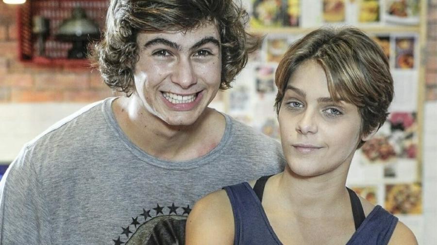 Pedro (Rafael Vitti) e Karina (Isabella Santoni) em Malhação: Sonhos (Divulgação/Globo) - Reprodução / Internet