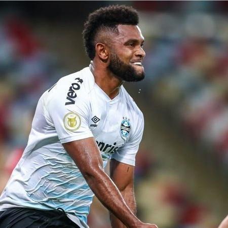 Borja tem ajudado o Grêmio na luta para deixar a zona de rebaixamento à Série B - (Foto: Divulgação/Grêmio)