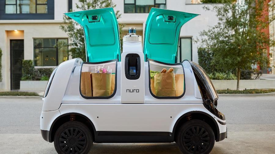 Robôs de entrega Nuro - Divulgação/Nuro