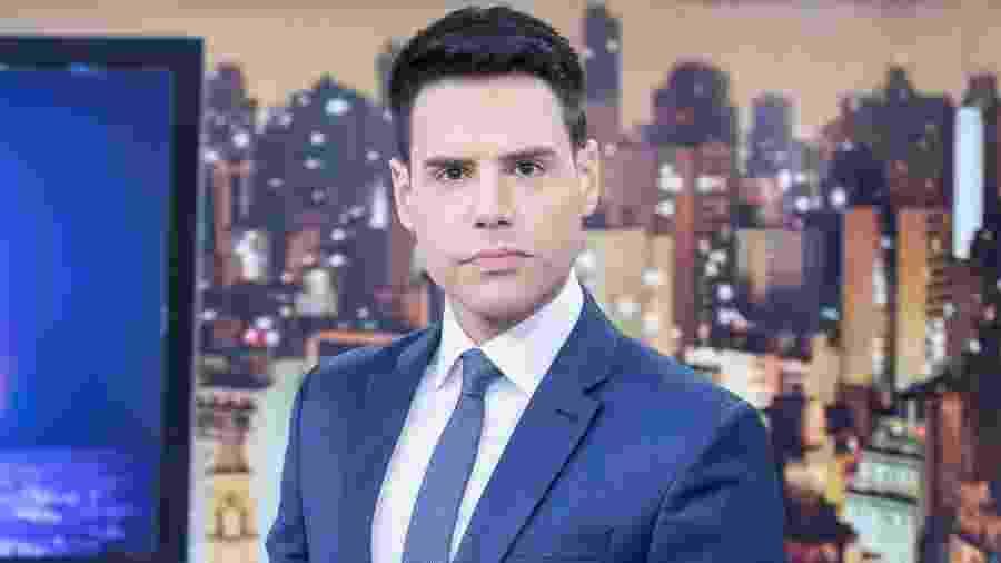 """O apresentador do """"Cidade Alerta"""", Luiz Bacci - Divulgação/Record TV"""