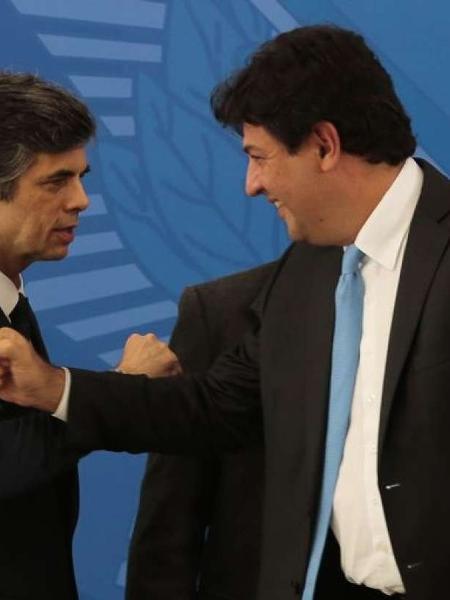 Nelson Teich e Luiz Henrique Mandetta serão os primeiros a serem ouvidos na CPI da Covid - Marcello Casal Jr/Agência Brasil