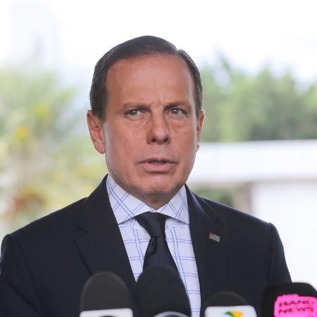 O governador de São Paulo, João Doria.  - Agência Brasil