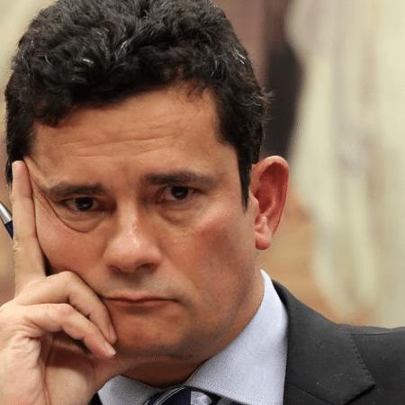 """O ex-juiz Sérgio Moro, a quem Bolsonaro disse desejar """"sorte: ahã - Foto: Wilson Dias/Agência Brasil"""