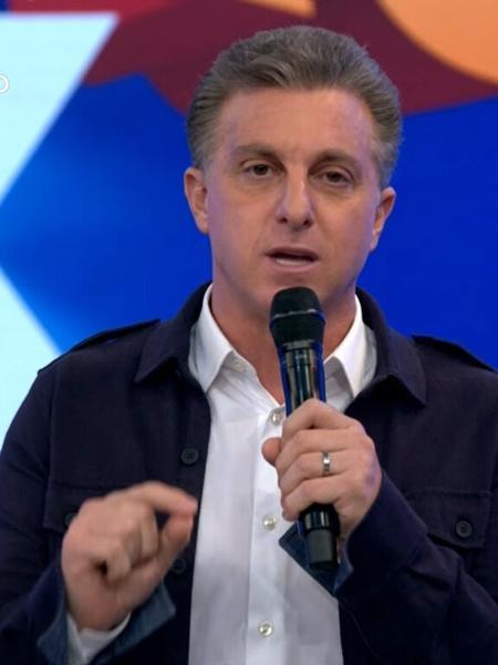 Luciano Huck no Domingão - Reprodução/TV Globo