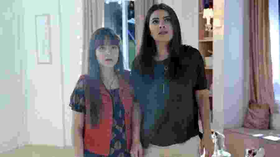 Poliana (Sophia Valverde) e Luísa (Thaís Melchior) em As Aventuras de Poliana (Foto: Lourival Ribeiro / SBT) - Reprodução / Internet