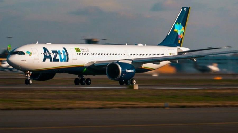 Demanda total por voos da Azul em janeiro cai 31%, queda doméstica é de 11,7% -                                 ILUSTRATIVA/DIVULGAçãO