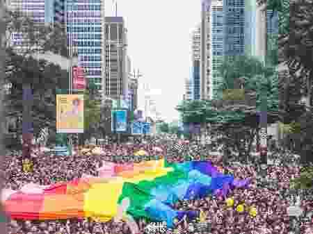 Parada LGBT de São Paulo (Foto: APOGLBT)