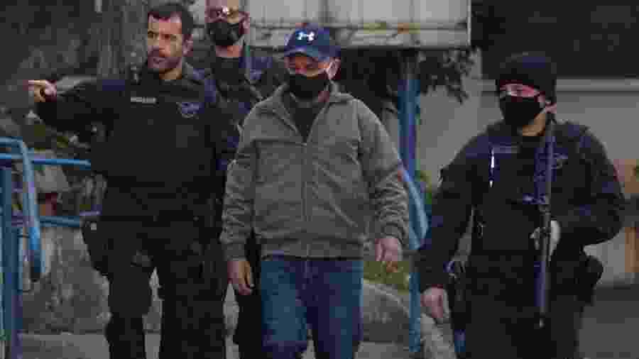 Queiroz foi preso no dia 18 de junho                              -                                 NELSON ALMEIDA/AFP