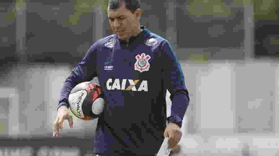 Carille ainda não definiu quem será o titular no ataque do Corinthians - Reprodução/Corinthians