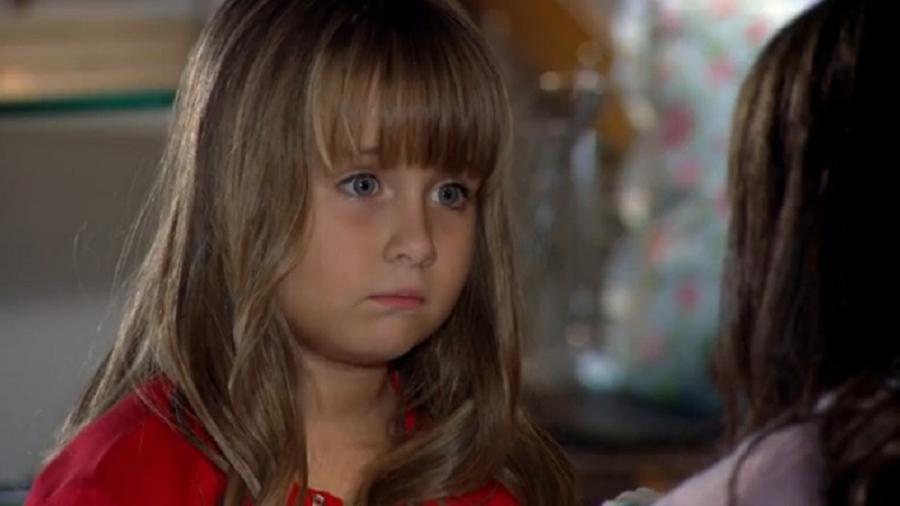 Júlia (Jesuela Moro) em A Vida da Gente (Foto: Reprodução/Globo) - Reprodução / Internet