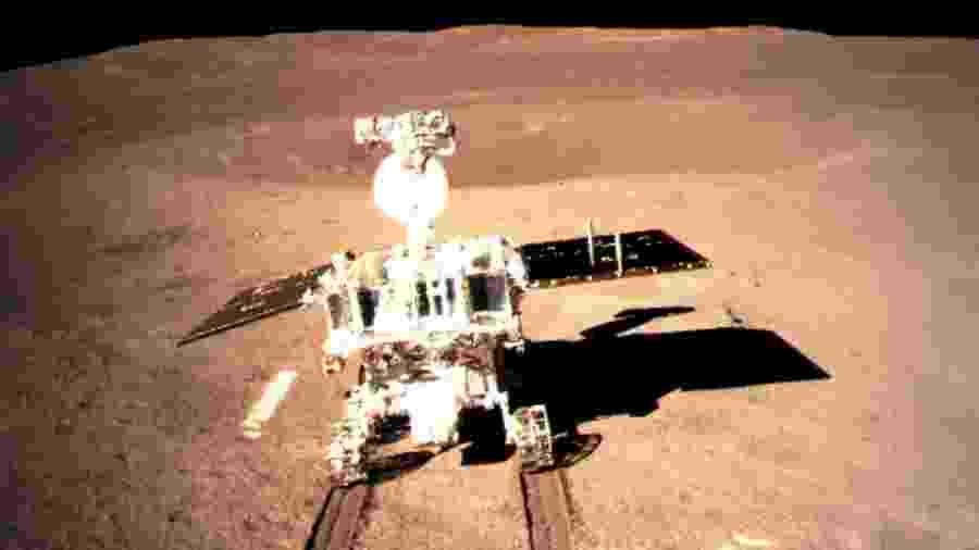 Rover chinês Jade Rabbit 2 coleta dados sobre o lado oculto da Lua - Administração Espacial Nacional da China