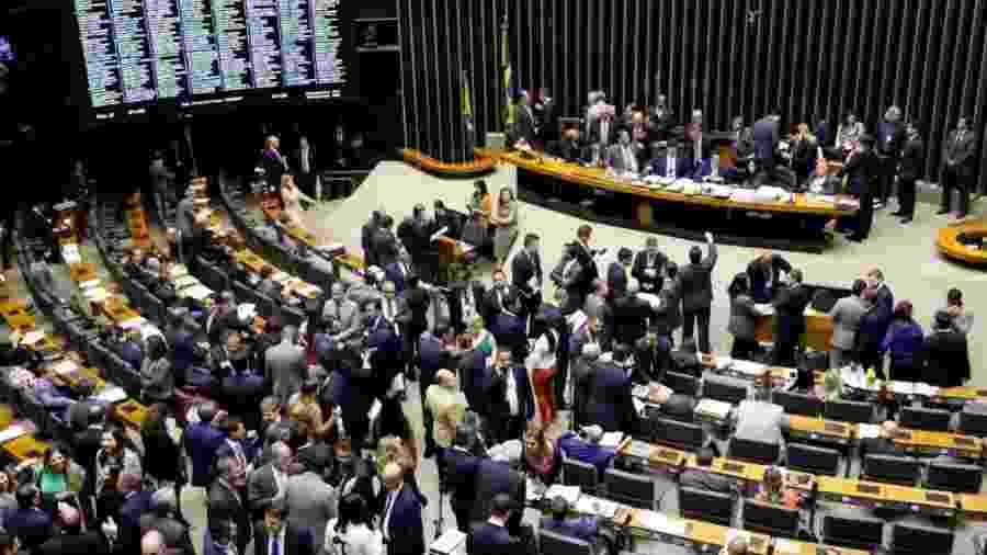 Sessão do Congresso Nacional  - Luis Macedo/Câmara dos Deputados
