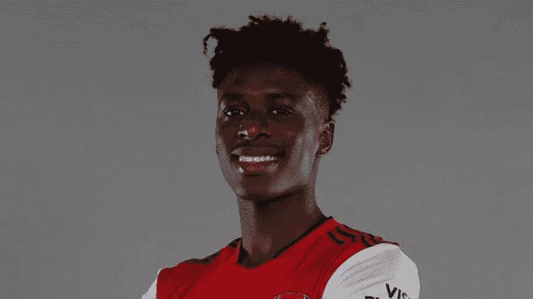 Arsenal anuncia contratação do meia belga Sambi Lokonga - Divulgação/ Arsenal - Divulgação/ Arsenal