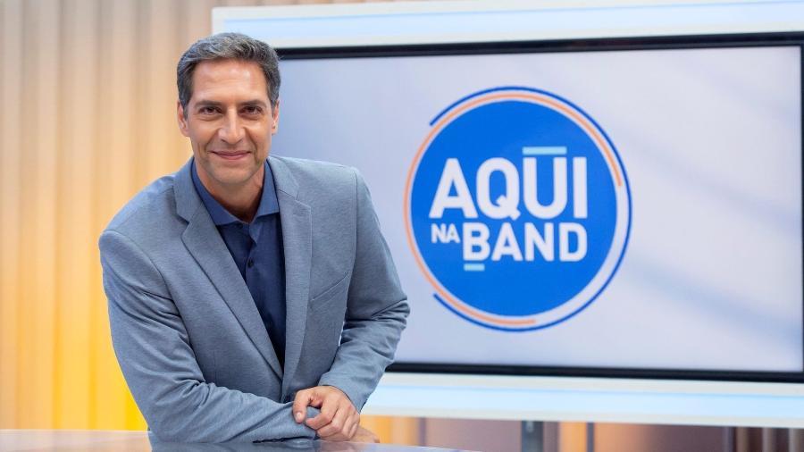 Luís Ernesto Lacombe, ex-apresentador do Aqui na Band  - Kelly Fuzaro/Band