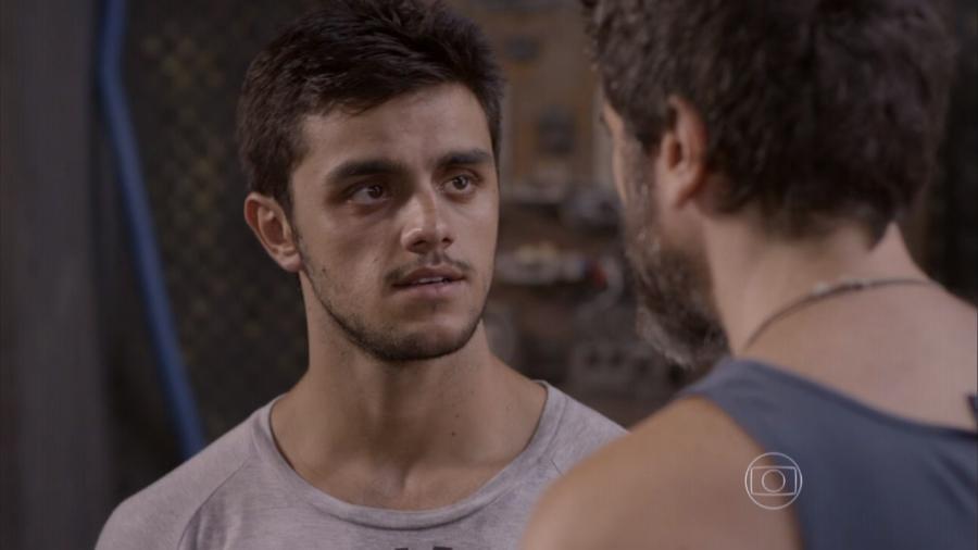 Cobra (Felipe Simas) em Malhação - Sonhos (Foto: Reprodução / Globo) - Reprodução / Internet