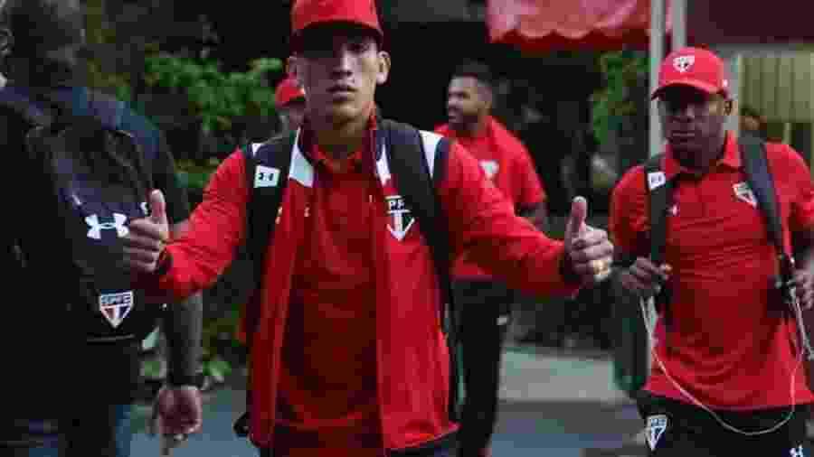 Meia argentino pode voltar ao São Paulo nas próximas semanas - Rubens Chiri/Site São Paulo