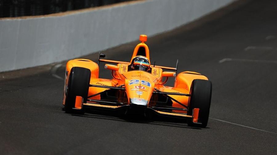 Alonso vai largar em quinto nas 500 Milhas - Brian Spurlock-USA TODAY Sports