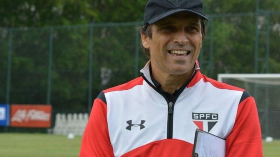 Milton Cruz em sua primeira passagem pelo São Paulo  - Site Oficial / saopaulofc.net