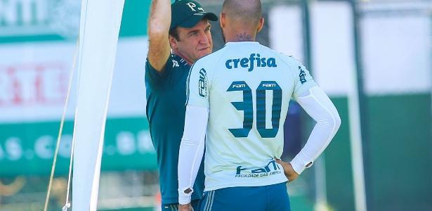 Conversas entre Felipe Melo e Cuca foram raridade desde retorno