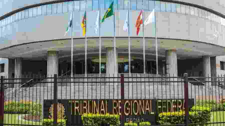 Fachada do Tribunal Regional Federal da 4ª Região - Divulgação