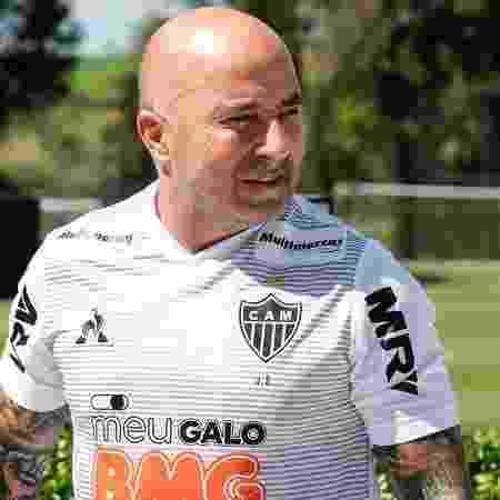 Jorge Sampaoli, técnico do Atlético Mineiro - Bruno Cantini / Agência Galo / Atlético
