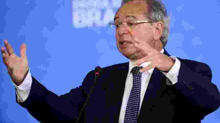 O ministro da Economia, Paulo Guedes                              -                                 ABR