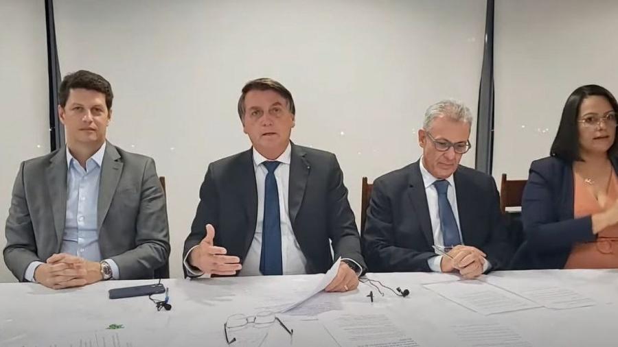 """""""Dados fantásticos"""", diz Bolsonaro sobre alta do PIB no 3º trimestre -                                 REPRODUÇÃO DE VÍDEO"""