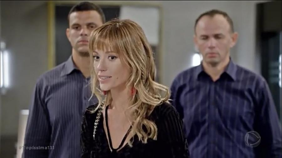 Yasmim (Juliana Didone) em Topíssima (Reprodução/TV Globo). - Yasmim (Juliana Didone) em Topíssima (Reprodução/TV Globo).