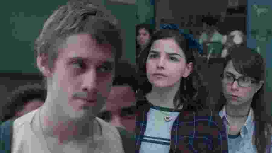 Dogão (Giovanni Gallo), Keyla (Gabriela Medvedovski) e Benê (Daphne Bozaski) de Malhação - Viva a Diferença (Reprodução - TV Globo) - Reprodução / Internet