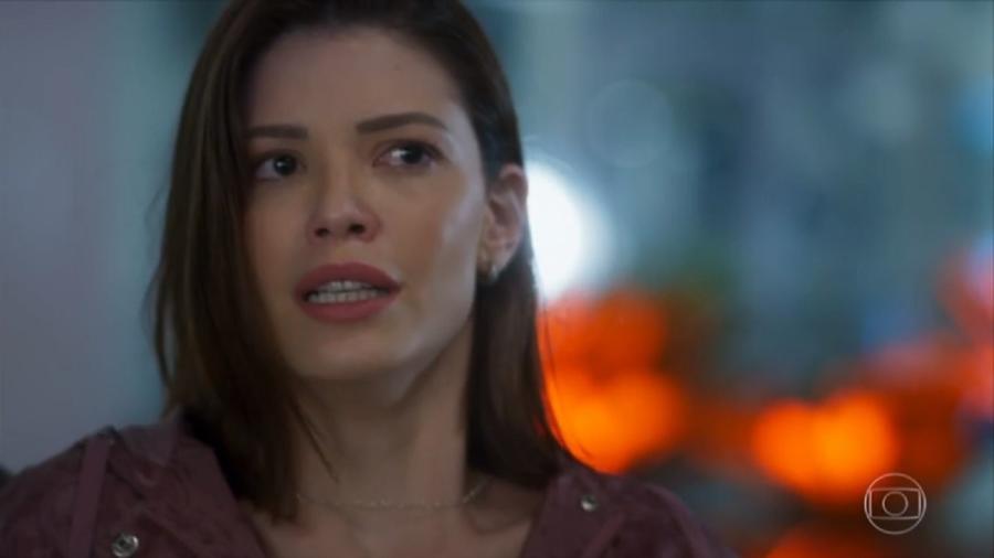 Kyra (Vitória Strada) de Salve-se Quem Puder (Reprodução/TV Globo) - Reprodução / Internet