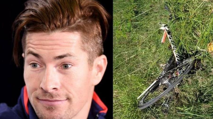 Nicky Hayden foi atropelado em Rimini, na Itália - Montagem/Band