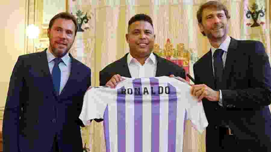 Ronaldo é apresentado como acionista majoritário do Real Valladolid - Divulgação