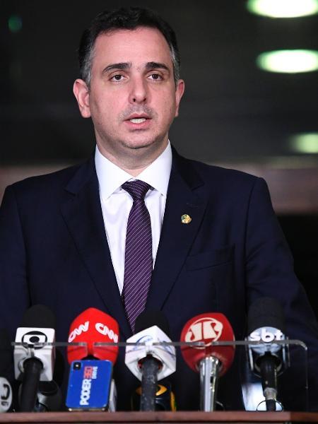 Rodrigo Pacheco (DEM-MG), presidente do Senado, em entrevista  - Roque de Sá/Agência Senado