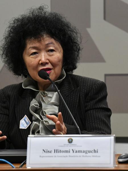 A oncologista Nise Yamaguchi  -  Jane de Araújo/Agência Senado