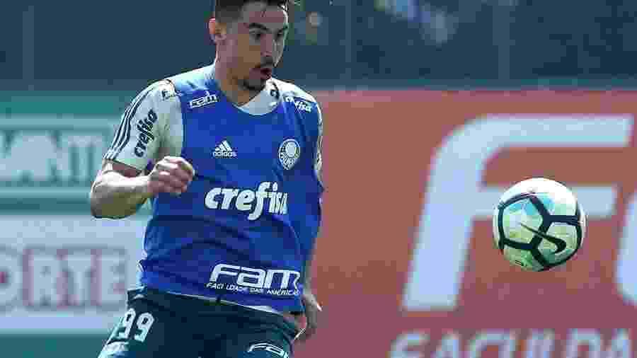 Willian voltou a treinar com o grupo do Palmeiras - Luis Moura/WPP/Estadão Conteúdo