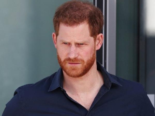 Príncipe Harry em março de 2020