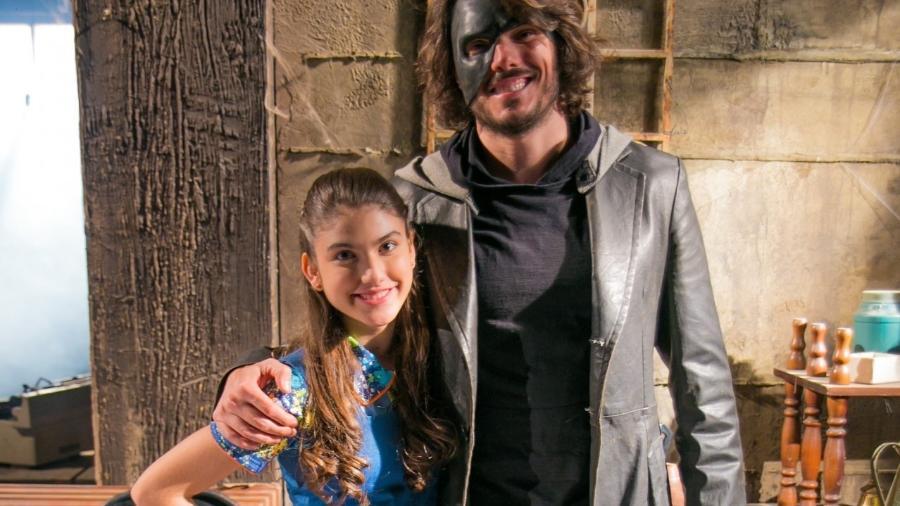 Giovanna Grígio e Daniel Andrade como Mili e Miguel em Chiquititas (Divulgação / SBT) - Reprodução / Internet