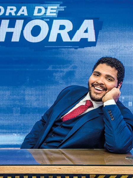Paulo Vieira no Fora de Hora - Reprodução / Internet