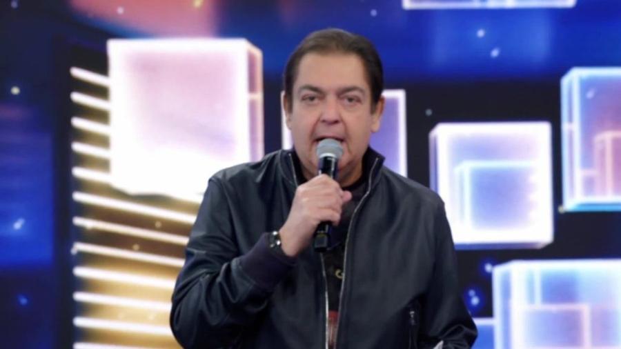 Fausto Silva nos tempos do Domingão (Reprodução/TV Globo). - Reprodução / Internet