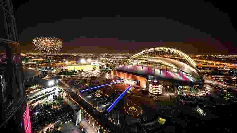 O Khalifa International  Stadium, primeiro estádio da Copa 2022 a ficar pronto - false