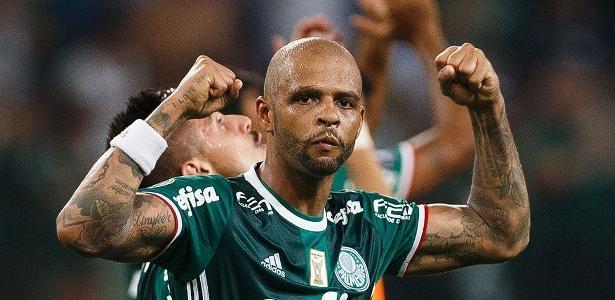 Situação de Felipe Melo segue indefinida no Palmeiras