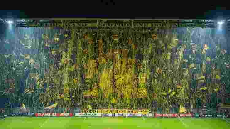 Torcida do Borussia Dortmund - Reprodução - Reprodução